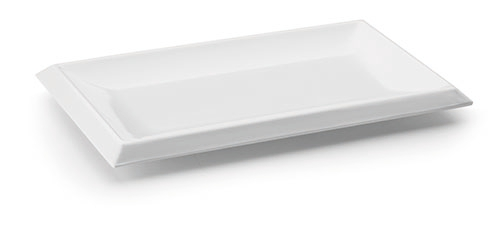 BANDEJA RECTANGULAR WHITE